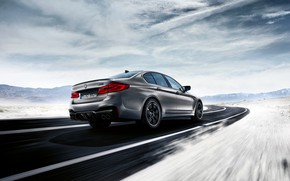 Picture BMW, back, 2018, M5, V8, F90, M5 Competition
