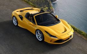 Picture water, Ferrari, sports car, Spider, Ferrari F8