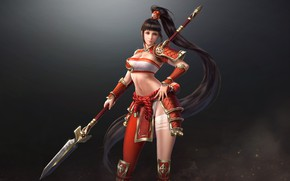 Picture the game, fantasy, art, tian zi, costume design, My Dynasty heroes