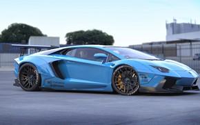 Picture Auto, Lamborghini, Machine, Car, Auto, Render, Aventador, Lamborghini Aventador, Rendering, Supercar, Sports car, Sportcar, Transport …