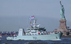 Picture America, visit, canadian Navy, Glace Bay