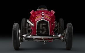 Picture Alfa Romeo, Classic, Scuderia Ferrari, 1932, Grand Prix, Classic car, Sports car, Grille, Alfa Romeo …