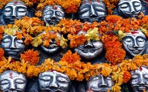 Picture mask, Hinduism, Дашара, Виджаядашами
