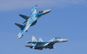 Picture Fighter, Ukraine, Su-27, Su-27UB, Ukrainian air force