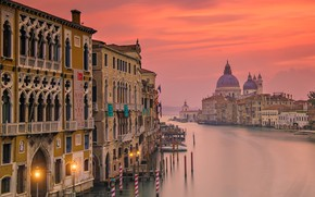 Picture Italy, Venice, the view from the Bridge Academy