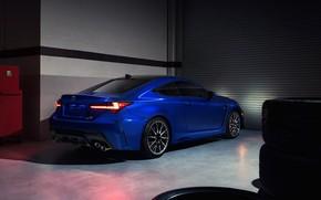 Picture Lexus, rear view, RC F, 2019
