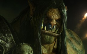"""Picture Orc, Blizzard Entertainment, World Of Warcraft, Grom Hellscream, Warlords of Draenor, Grommash Hellscream, Grommash """"Grom"""" …"""