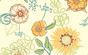 Picture background, texture, pattern, Floral