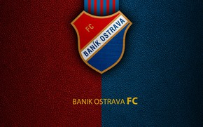 Picture wallpaper, sport, logo, football, Banik Ostrava