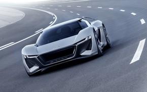 Picture grey, movement, Audi, markup, 2018, PB18 e-tron Concept