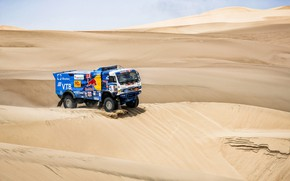 Picture Sand, Auto, Sport, Machine, Speed, Truck, Race, Master, Russia, 500, Kamaz, Rally, Dakar, KAMAZ-master, Dakar, …