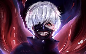 Picture look, mask, guy, The Kaneko Ken, Tokyo Ghoul: Reborn, Tokyo Ghoul RE