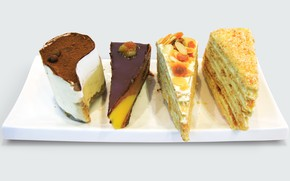 Picture pie, cake, tiramisu, Napoleon
