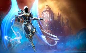 Picture Blizzard, Diablo 3, Diablo, Angel, Archangel, Auriel, Mr--Jack, by Mr--Jack, Character, Mr Jack, by Mr …