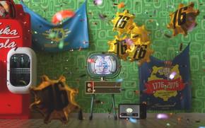 Picture Balls, Balls, TV, Holiday, Fallout, Bethesda Softworks, Nuka Cola, Bethesda, Bethesda Game Studios, Vault Boy, …