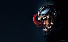 Wallpaper Language, Teeth, Marvel, Venom, Venom, Symbiote, Creatures, by Marthin Anthony Millado, Marthin Anthony Millado