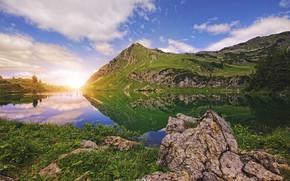 Picture landscape, mountains, beauty