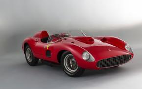 Picture Spokes, Ferrari, Classic, 1957, Classic car, Sports car, Ferrari 335 S Spyder