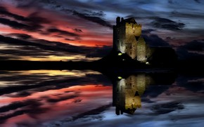Picture Ireland, Galway, Dunguaire, Dunguaire Castle