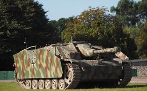 Picture armor, self-propelled artillery, StuG III, Sturmgeschütz III