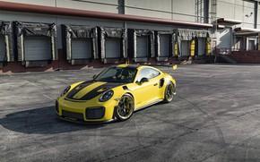 Picture 911, Porsche, Black, Yellow, Turbo, GT2RS