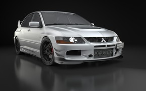 Picture car, dark, sport, sportcar, mitsubishi, auto, studio, tuning, lancer, evolution, speed, rendering, wheel, 2004, drive, …
