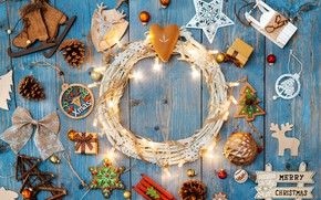 Picture toys, Christmas, composition