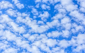 Picture the sky, clouds, Nature