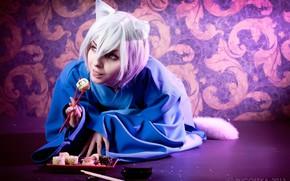 Picture cosplay, Kamisaa The Hajimemashita, Very nice God, rolls, Tomoya