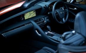 Picture interior, Lexus, the wheel, convertible, 2021, LC 500 Convertible