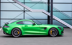 Picture Mercedes-Benz, side view, AMG, GT R, 2019