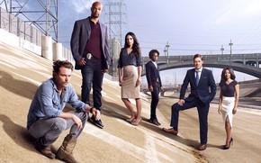Picture Jordana Brewster, Los Angeles, Lethal Weapon, Klein Crawford, Damon Wayans, Lethal weapon, Keisha Sharpe