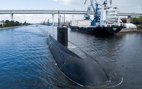 Picture boat, underwater, diesel, Petropavlovsk-Kamchatsky