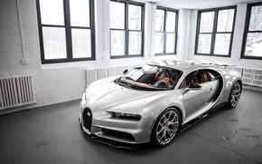 Picture Bugatti, Windows, Silver, VAG, Sight, Chiron, 16/4