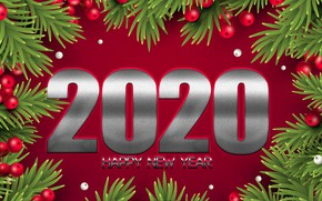 Picture New year, decoration, New Year, 2020
