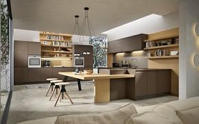 Picture design, style, interior, kitchen, Cincinnati, Ohio, Italian kitchen