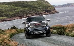 Picture front, pickup, GMC, Denali, Sierra, 2019