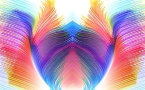 Picture color, bright, background, figure
