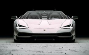 Picture Auto, Lamborghini, Machine, Supercar, Rendering, The front, Sports car, Lamborghini Centenary, Centennial, Transport & Vehicles, …