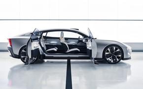 Picture Concept, Volvo, side view, Polestar, 2020, Precept