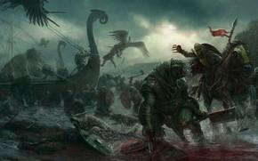 Picture Vikings, The Vikings, Stefan Kopinski, Darklands