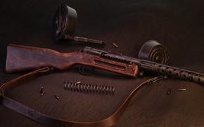 Picture Germany, The gun, Schmeisser MP18