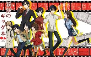 Picture girls, anime, art, guys, Boku Dake ga Inai Machi