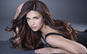 Picture eyes, look, girl, pose, hair, beautiful, Jessica Ashley