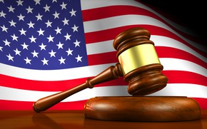 Picture flag, hammer, America, america, usa, fon, flag, the court, court