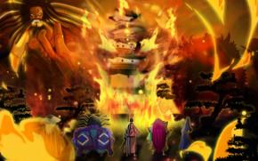 Picture fire, flame, One Piece, pirate, big, war, anime, ken, blade, samurai, ninja, hero, asian, giant, …