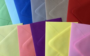 Picture background, color, envelopes
