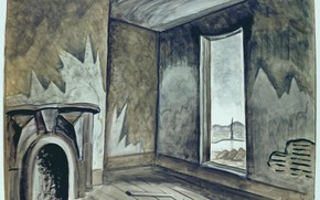 Picture Charles Ephraim Burchfield, In a Deserted House, 1918-39