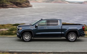Picture side view, pickup, GMC, Denali, Sierra, 2019