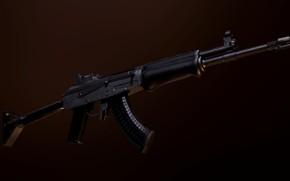 Picture rendering, weapons, gun, weapon, render, Valmet, assault rifle, assault Rifle, Valmet, Finnish Kalashnikov, Finnish Kalashnikov, …